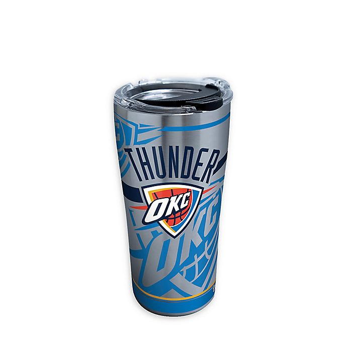 Alternate image 1 for Tervis® NBA Oklahoma City Thunder Paint 20 oz. Stainless Steel Tumbler with Lid