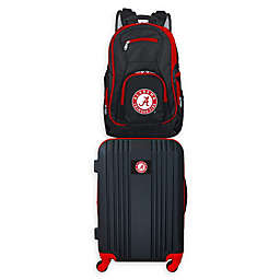 University of Alabama Backpack and 21-Inch Hardside Spinner Carry On Luggage Set