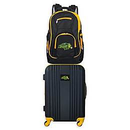North Dakota State University Backpack and 21-Inch Hardside Spinner Carry On Luggage Set