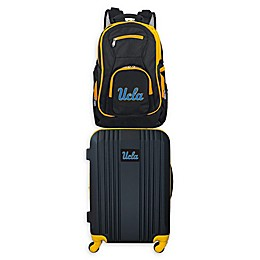 UCLA Backpack and 21-Inch Hardside Spinner Carry On Luggage Set