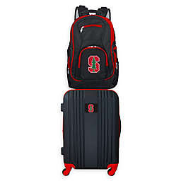 Stanford University Backpack and 21-Inch Hardside Spinner Carry On Luggage Set