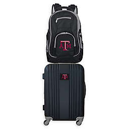 Texas A&M University Backpack and 21-Inch Hardside Spinner Carry On Luggage Set