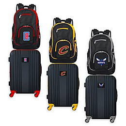 NBA 2-Piece Backpack and 21-Inch Hardside Spinner Carry-On Luggage Set Collection