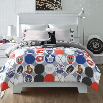 Nhlnhl Canadian Teams Shot On Goal Full Queen Comforter Dailymail