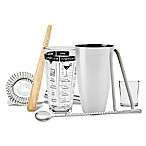 Refinery 7-Piece Mixology Tool Set in Stainless Steel