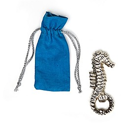 Seahorse Bottle Opener with Gift Pouch