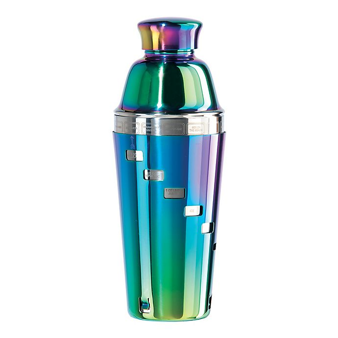 Alternate image 1 for Oggi™ Dial A Drink™ Stainless Steel Cocktail Shaker in Rainbow