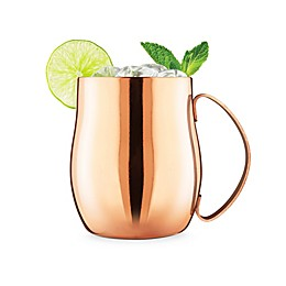 Final Touch® Double-Wall Moscow Mule Glass in Copper