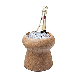 Final Touch® 2.3 qt. Champagne Cork Ice Bucket