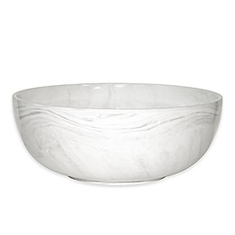Artisanal Kitchen Supply® 10-Inch Coupe Marbleized Serving Bowl in Grey