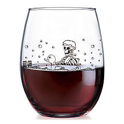 Luminarc Blood Bath Stemless Wine Glass