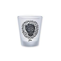 Fiesta® Skull and Vine Frosted Shot Glasses (Set of 4)