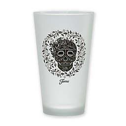 Fiesta® Skull and Vine Tapered Cooler Pint Glasses (Set of 4)