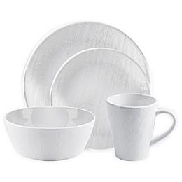 Home Essentials & Beyond Burlap 16-Piece Dinnerware Set
