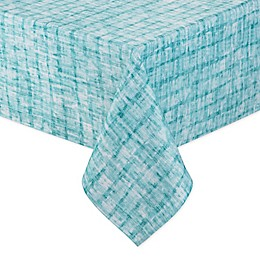 Destination Summer Essen Indoor/Outdoor Tablecloth in Aqua