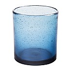 Bee & Willow™ Home Milbrook Bubble Double Old Fashioned Glass in Blue