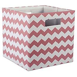 Design Imports Chevrons 11-Inch Storage Cube