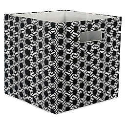 Design Imports Honeycomb 11-Inch Storage Cube