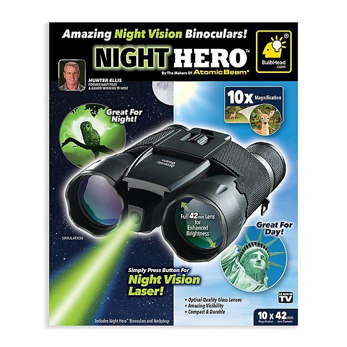 Alternate image 1 for Atomic Beam™ Atomic Night Hero Binoculars
