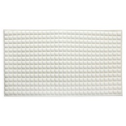 SlipX Solutions® Pillow Top Safety Bath Mat