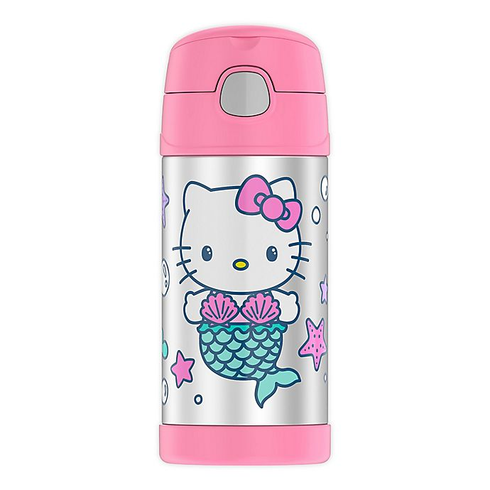 Alternate image 1 for Thermos® Hello Kitty® 12 oz.FUNtainer™ Beverage Bottle in Blue