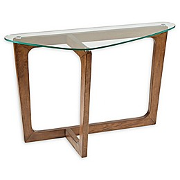 INK+IVY Walker Console Table in Brown