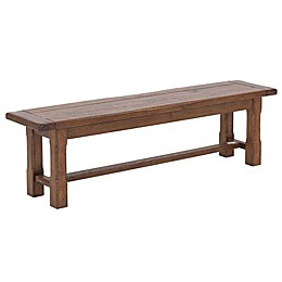 Harbor House Lauren Dining Bench in Chestnut Finish