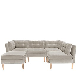 Varick Microsuede Upholstered Furniture Collection
