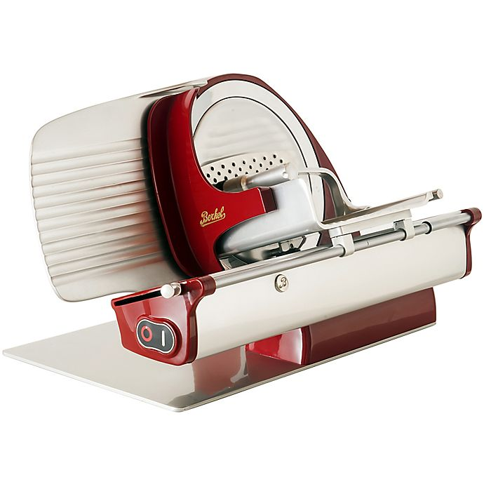 Alternate image 1 for Berkel Home Line 250 Electric Slicer in Red