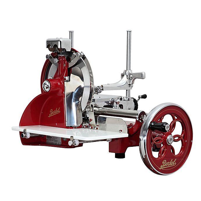Alternate image 1 for Berkel Volano P15 Flywheel Slicer in Red