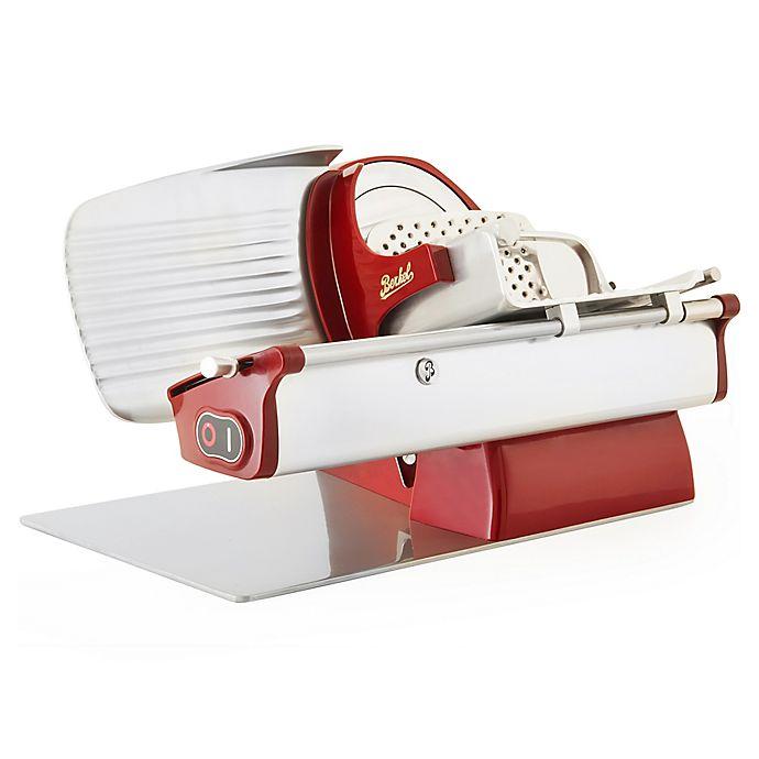 Alternate image 1 for Berkel Home Line 200 Electric Slicer in Red