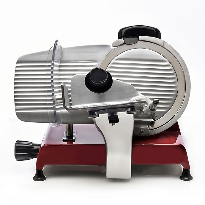 Alternate image 1 for Berkel Red Line 250 Electric Food Slicer in Red