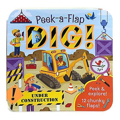 """Cottage Door Press """"Peek-A-Flap Dig"""" Book"""