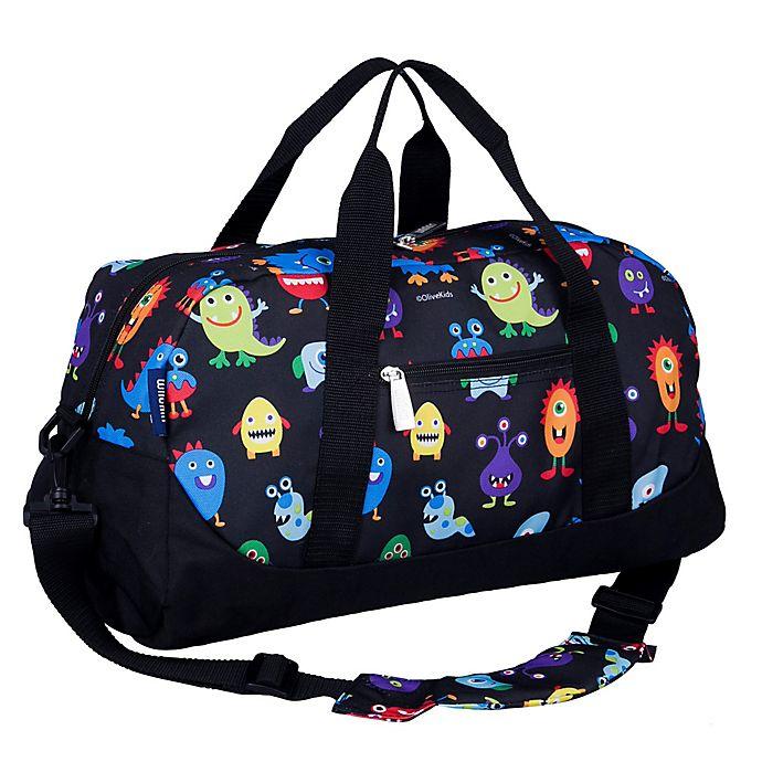 Alternate image 1 for Wildkin Monsters Duffel Bag in Black
