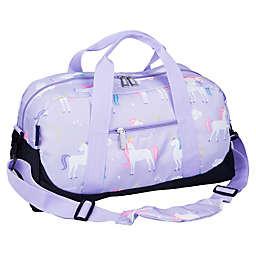 Wildkin Unicorn Duffel Bag in Purple
