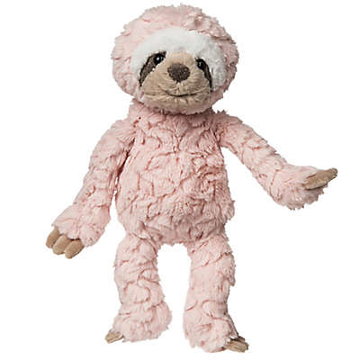 Mary Meyer Putty Sloth Plush Toy in Blush