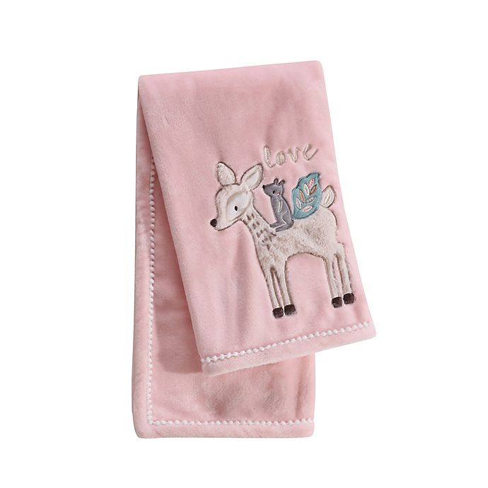 Alternate image 1 for Levtex Baby® Everly Blanket in Pink