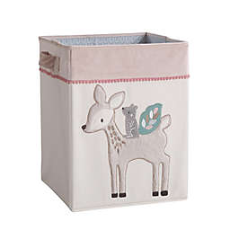 Levtex Baby® Everly Hamper in Pink/Cream