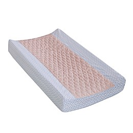 Levtex Baby® Everly Changing Pad Cover in Pink/Teal