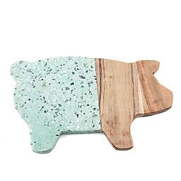 Thirstystone® Terrazzo Pig Serving Board