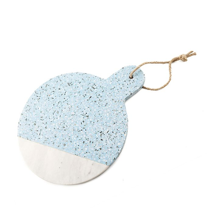 Alternate image 1 for Thirstystone® Terrazzo Round Serving Board