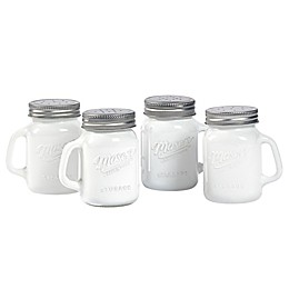 Mason Craft & More® Mason Jar Salt/Pepper Shakers (Set of 4)