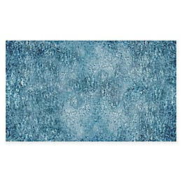 FlorArt Rough Country Kitchen Mat in Blue