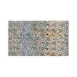 FlorArt Boiler Room Kitchen Mat in Grey