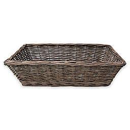 Bee & Willow™ Home Milbrook Wicker Bread Basket in Grey
