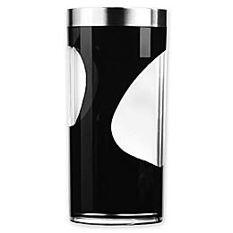 Prodyne Acrylic 2-Tone Wine Cooler in Black