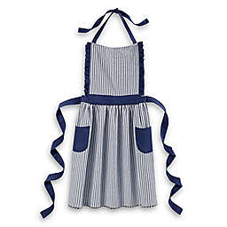 Bee & Willow™ Home Striped Apron in Blue/White