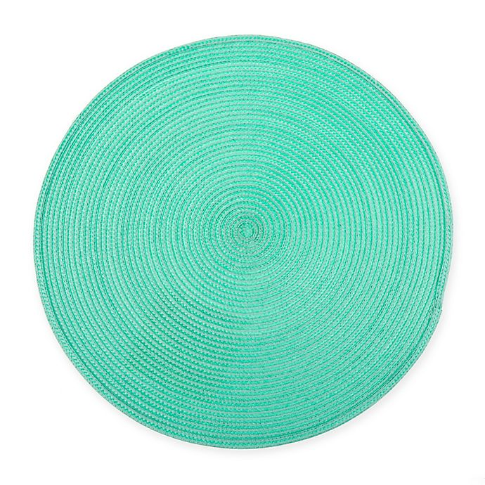 Alternate image 1 for Round Placemat in Tropical Green