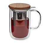 Viva Scandinavia Minima Double Walled Glass Teacups (Set of 2)