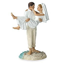 Lillian Rose™ Beach Wedding Caucasian Couple Figurine